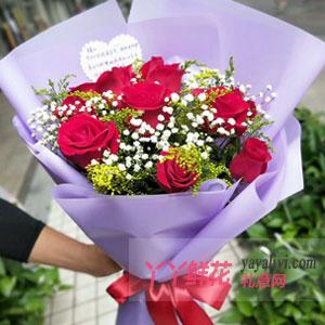 11朵紅玫瑰