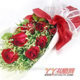 同城送花11朵紅玫瑰