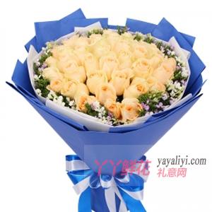 老公过生日送花好吗?
