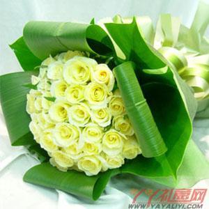 網站訂花36朵黃玫瑰