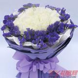 异地送花16朵白玫瑰