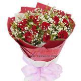 特价鲜花11枝红玫瑰免费送花