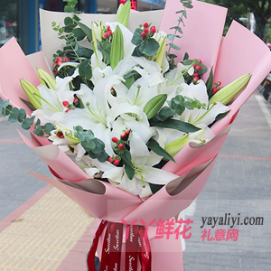 普通女朋友过生日送什么花?