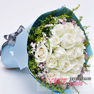 姐姐過生日送白玫瑰代表什么?