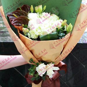 21支白玫瑰鮮花速遞