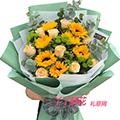 11枝向日葵鮮花束速遞