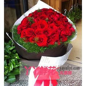 鮮花速遞99枝紅玫瑰