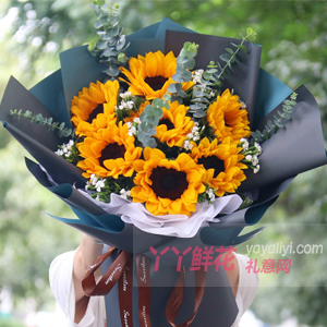老公生日送什么样的花?