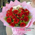 19朵红玫瑰2小熊粉色款
