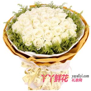 今生緣-鮮花配送33枝白玫瑰