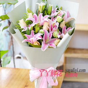 女性送女性朋友送什么花?