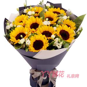 父亲50岁生日可以送什么花?