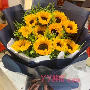 老公生日可以送鲜花吗?